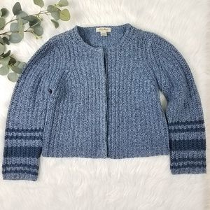 🌼 EDDIE BAUER Chunky Knit Cropped Sweater Pet Med